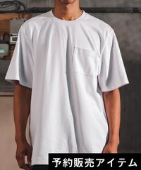 Box Pocket Side Slit Tee White 20S-108(10月下旬発送予定)
