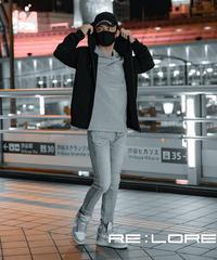 14.5oz Skinny Hyper Stretch Denim Jeans Light Blue (撥水加工無) 『YEEL/イール』19F-222
