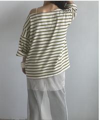 【&her】Basque shirts/OLIVE