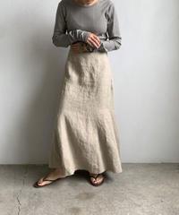 【&her】Linen Skirt/Ecru