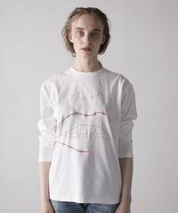 【&her】Draw Sewing Thirts-RIP-/REDYARN
