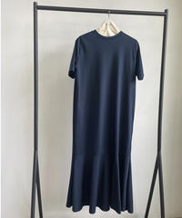 【&her】Mermaid Tee Dress/NAVY