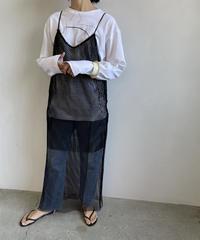 【&her】Mesh Dress/BLACK