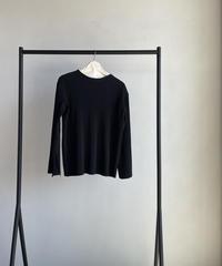 【&her】Pleats Tops/BLACK