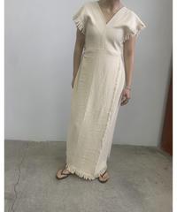 【&her】Fringe  Dress/Ivory