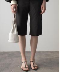 【&her】 Basic Half Pants/BLACK