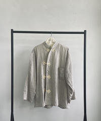 【&her】Crossover China Shirt/GREIGE