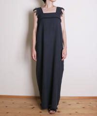 【&her】Weave  Dress/CharcoalGray