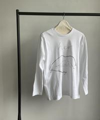【&her】Draw Sewing Thirts-RIP-/BLACKYARN
