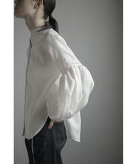 【&her】  Ballon Shirts/White