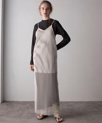 【&her】Mesh Dress/IVORY
