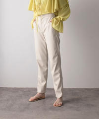 【&her】 Eco Leather Pants/WHITE