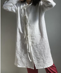 【&her】Linen Shirts Jacket/WHITE