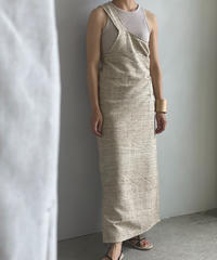 【&her】Silk Wrap Dress
