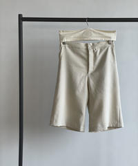 【&her】 Basic Half Pants/ECRU