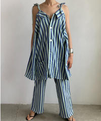 【&her】60s Fablic Setup/BLUE