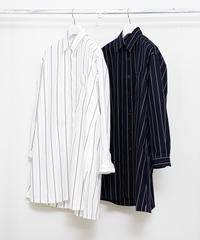 STRIPE SHIRT COAT