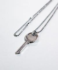 【シルバー925ver.】ANTIQUE KEY NECKLACE (silver)