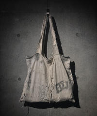 Old fabric tote bag