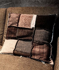 Various fabric cushion  BROWN