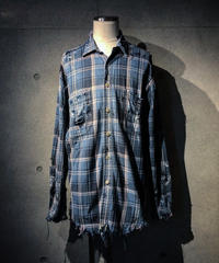 Vintage damage check shirt
