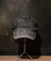 Vintage damage CAP (BLACK)
