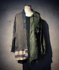 BORO×MILITALY vintage damage shirt(襤褸)