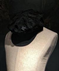 Damage fake suède casquette