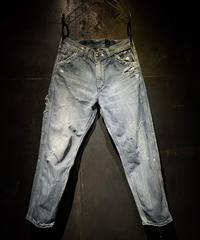 KIYOHARU × RESURRECTION painter denim pants #4