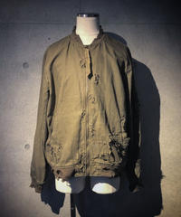 Hard damage military blouson