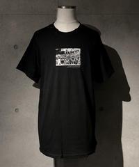 Street skull T-shirt BLACK