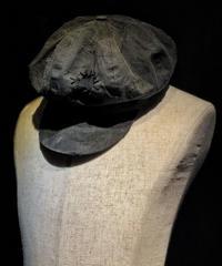 Bio wash vintage old black  casquette