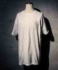 RAKUGAKI SKULL T-shirt WHITE