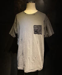 Denim pocket vintage Tee