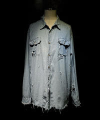 Vintage damage chambray shirt
