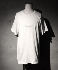 REN= T-shirt WHITE