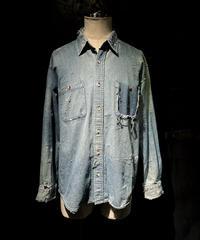 KIYOHARU × RESURRECTION Denim shirt #1