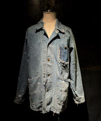 KIYOHARU × RESURRECTION Denim coverall jacket #1