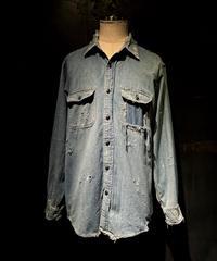 KIYOHARU × RESURRECTION Denim shirt #5