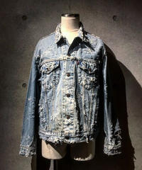 Hard damage Denim Jacket