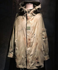 Vintage damage military coat