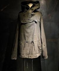 Military high neck hoodie