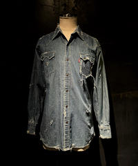 KIYOHARU × RESURRECTION Denim shirt #12