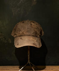 Vintage damage CAP (BROWN)