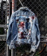 "Graffiti Art Denim Jacket ""Artist"""