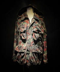Vintage damage camouflage jacket