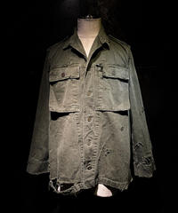 Damage military shirt