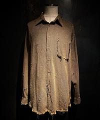 Vintage damage tweed shirt