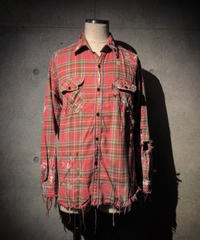 Hard damage & paint check shirt