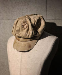 Bio wash vintage beige casquette